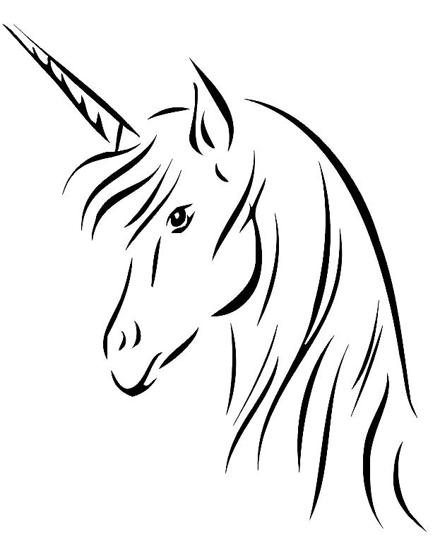 Disegno 12 Di Unicorni Da Colorare