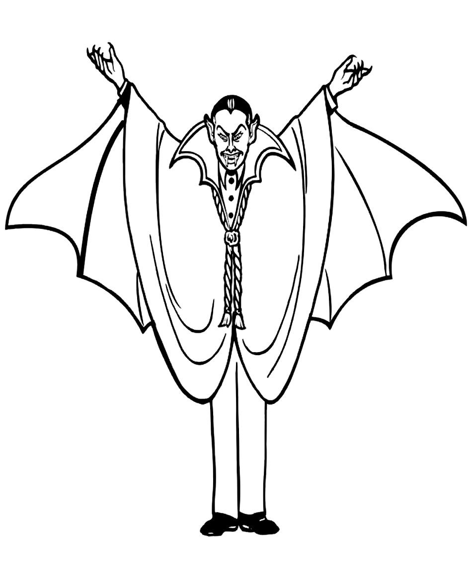Ausmalbilder 18 von Vampir
