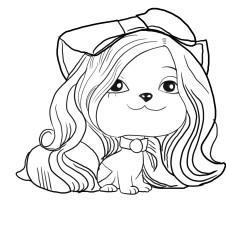 Dibujos de Vip Pets para colorear
