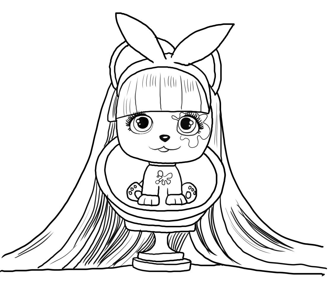 Dibujo de Alexia de Vip Pets voor een imprimir en colorear