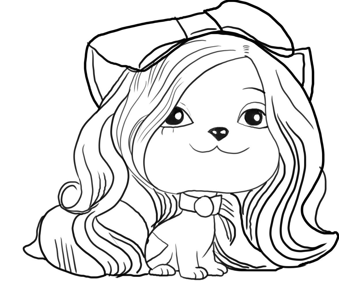 Dibujo de Juliet de Vip Pets para imprimir y colorear