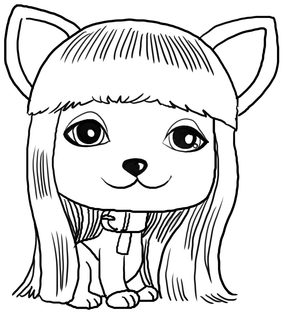 Dibujo de Taylor de Vip Pets voor een imprimir en kleur