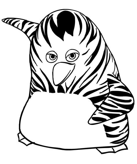 Disegni da colorare di maurice vita da giungla for Disegni di tigri da colorare