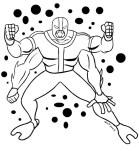 2x2 alien ontwerp, met vier armen