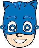Masque de Catboy à découper