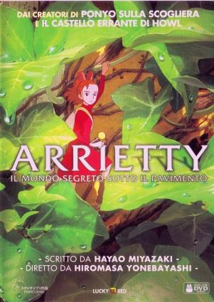 DVD Arrietty