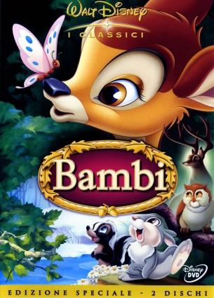 dvd Bambi