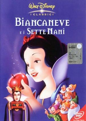 DVD Lumivalkoinen ja seitsemän kääpiötä