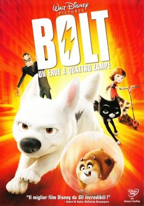 Dvd Bolt nelijalkainen sankari