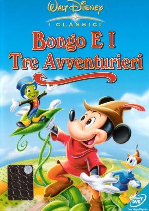 dvd Bongo en de drie avonturiers