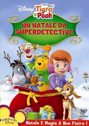 dvd Mijn vrienden Teigetje en Poeh. Een superdetectieve kerst