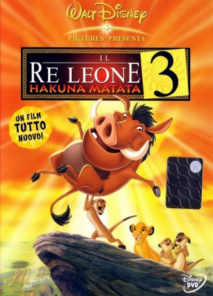 dvd the lion king 3 - Hakuna Matata