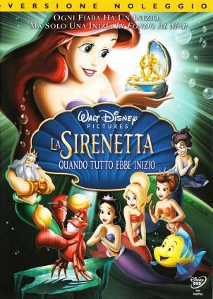dvd La Sirenita