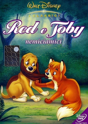 dvd Red e Toby Enemies
