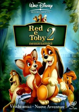 Dvd Red e Toby Enemiciamici