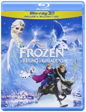 Blue Ray Frozen het ijsrijk