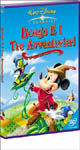 dvd Disney Bongo en de drie avonturiers