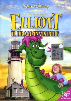 dvd Elliott de onzichtbare draak