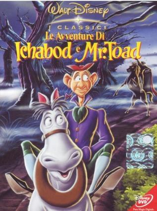 DVD De avonturen van Ichaboad en meneer Toad
