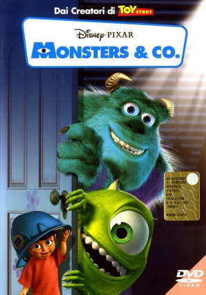 DVD Monsters & Co