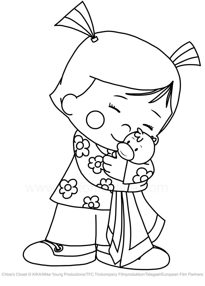 Drawing Chloe Corbin Who Hugging Lovely Carrot Chloe S Closet
