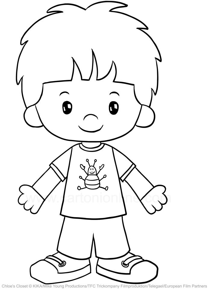 Drawing Jet Horton Chloe S Closet Coloring Page