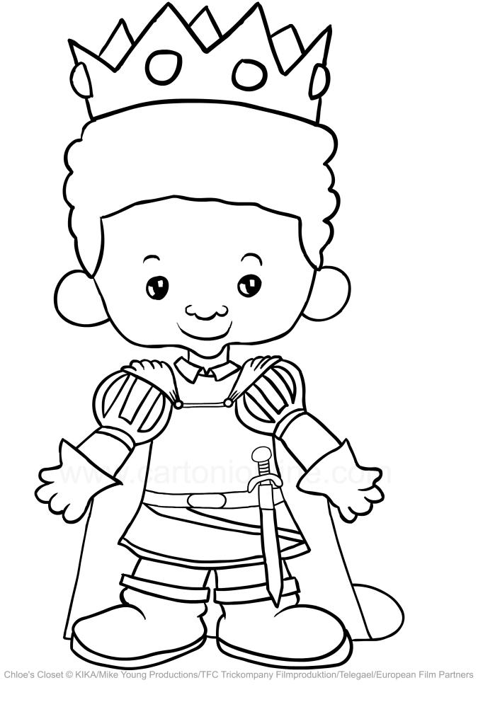 Drawing Riley Harris Chloe S Closet Coloring Page