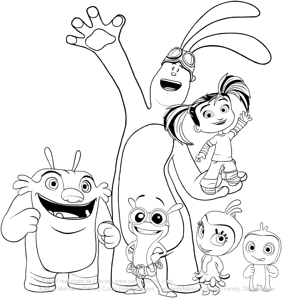 Painting Book Coloring Pages