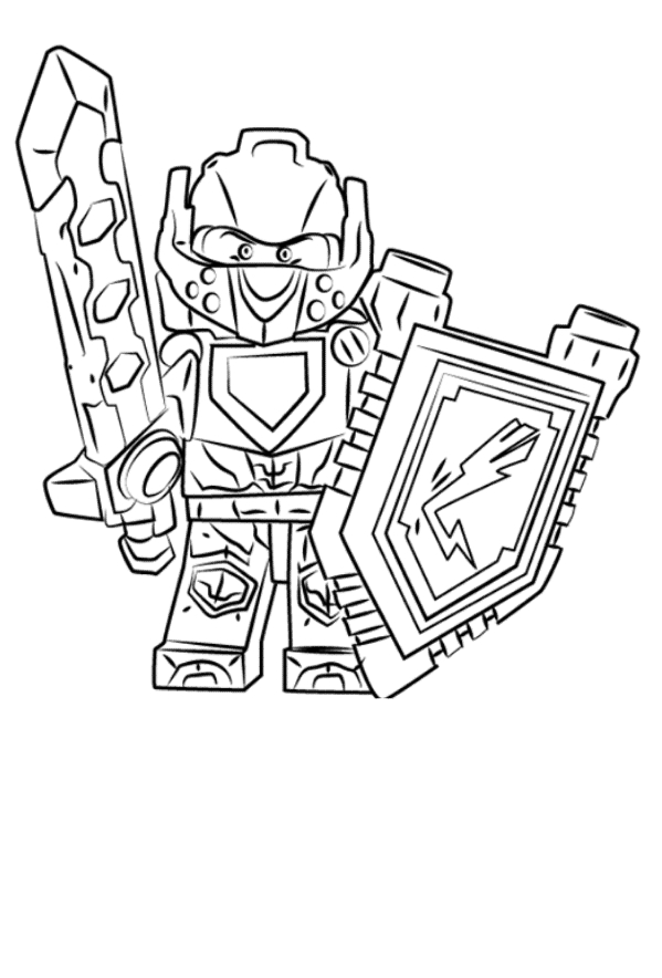 Kids-n-fun.com   29 coloring pages of Lego Nexo Knights   884x599