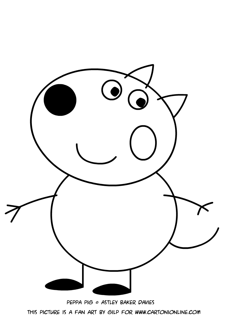 danny dog coloring pages