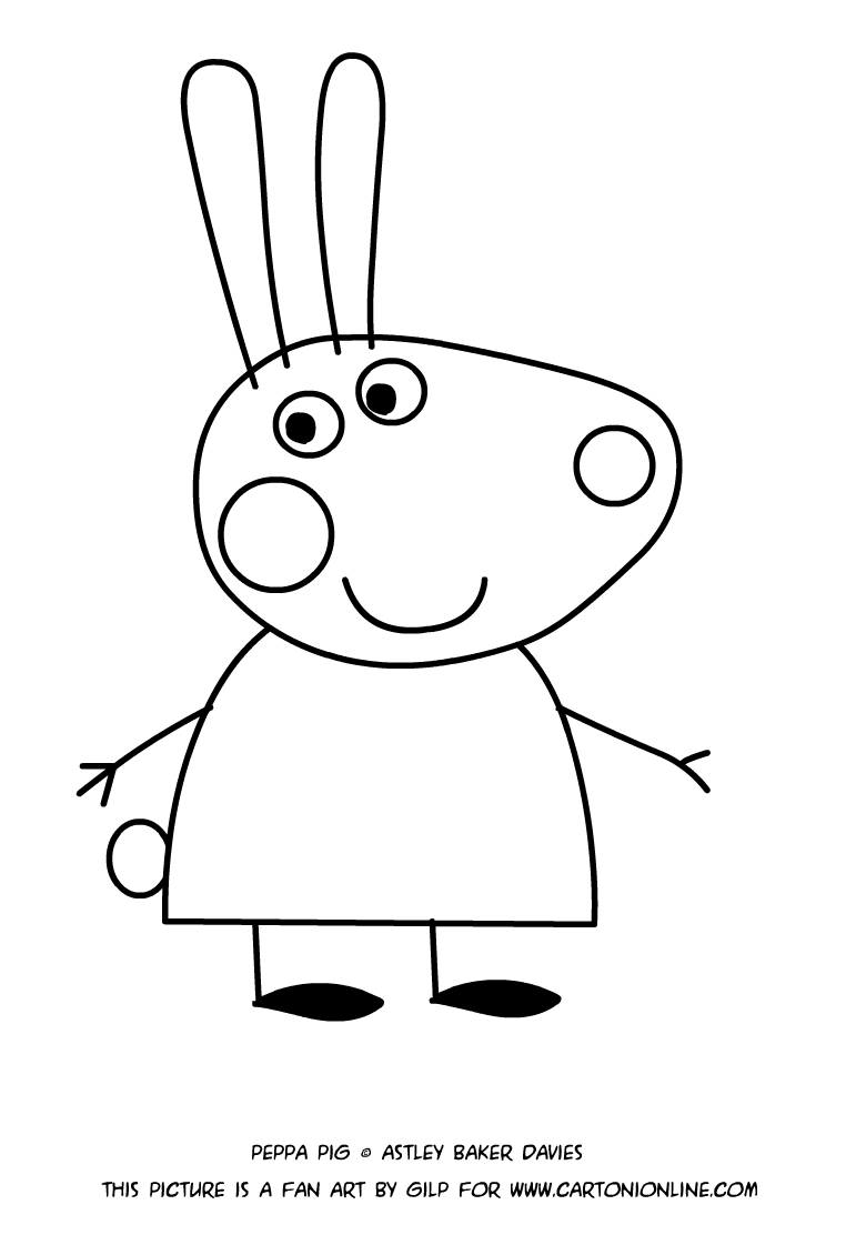 rebecca rabbit coloring pages