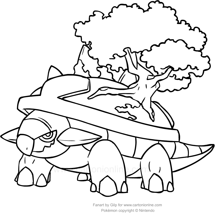 grotle coloring pages - photo#20