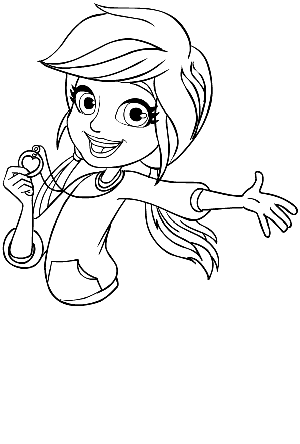 mini polly pocket coloring pages - photo#8