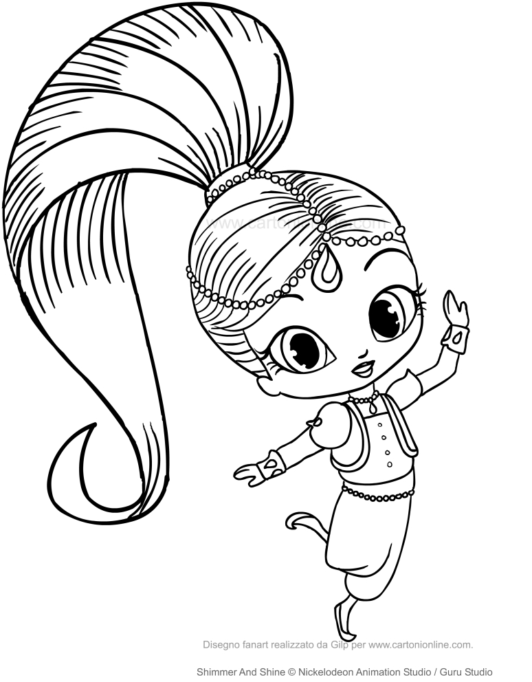 Shimmer And Shine Princess Samira Nazboo The Dragon