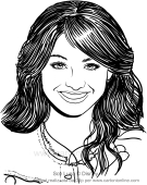 Drawing Soy Luna Coloring Page