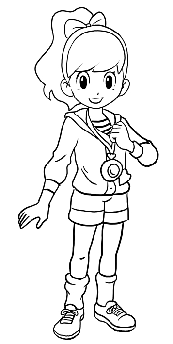 Watch yo kai coloring pages sketch coloring page for Yo kai watch coloring pages