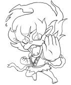 Yo Kai Watch Coloring Pages