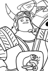 name coloring pages zak | Zak Storm coloring page