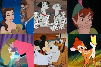 Postacie Disneya