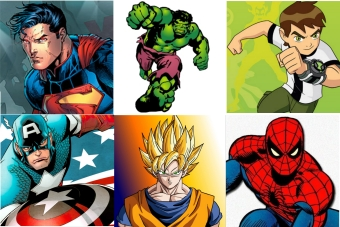 Personagens Superheroes