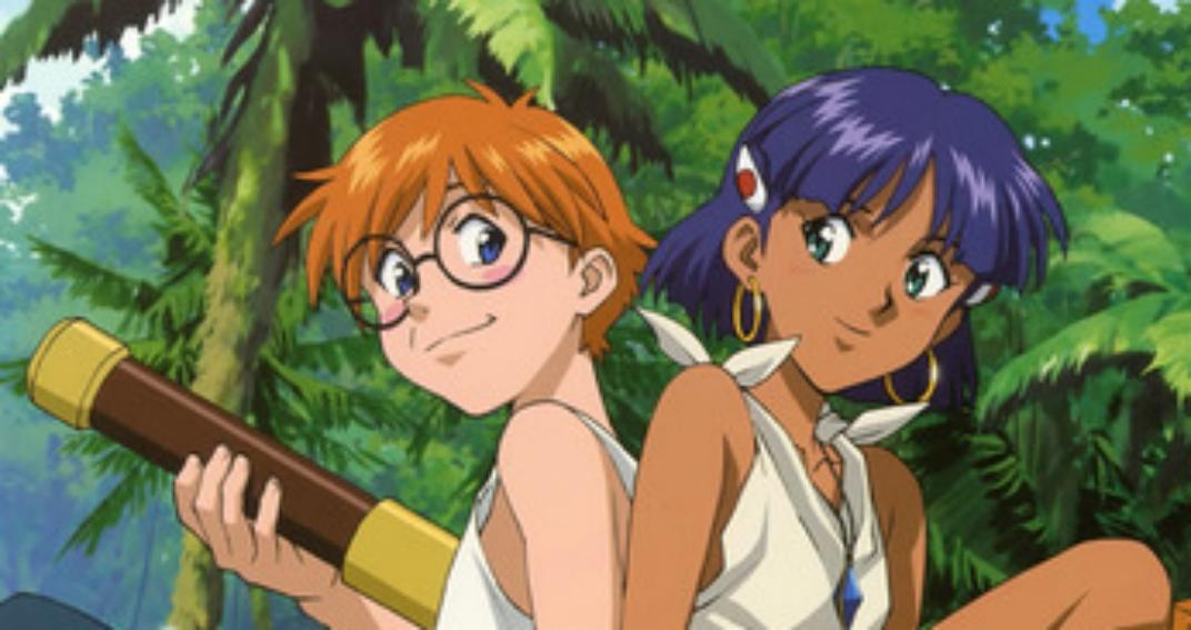 Nadia e il mistero della pietra azzurra