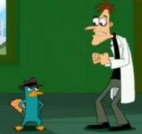 Perry l'ornitorinco e il dottor Doofenshmirtz