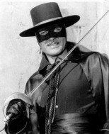 Zorro nel telefim con Guy Williams