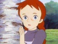 Personaggi dei cartoni animati capelli rossi vino rosso di colore