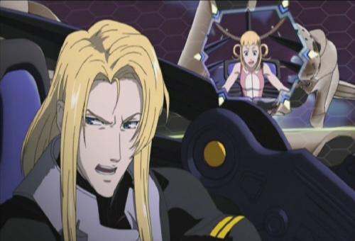 Aquarion - Sirius e Silvia de Alisia