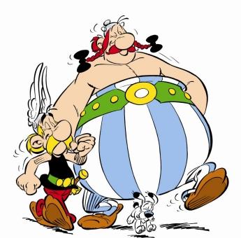 Asterix, Obelix ja Idefix