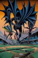 Batman, Robin y Batgirl