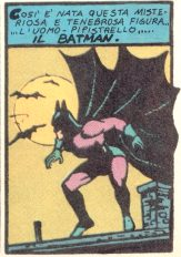 Batman's first appearance of the comics