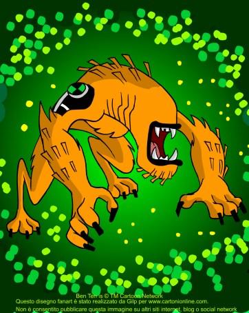 Bestiale的同人设计-Wildmutt Omnitrix的外星人