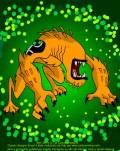 Bestiale - Wildmutt, o alienígena do Omintrix